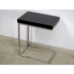 Lincoln Oldalasztal 47 x 31 cm / Fekete