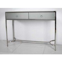 Nelda Fiókos Fésülködőasztal 100 cm Ezüst