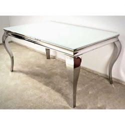 Lauren Étkezőasztal 150 cm Fehér