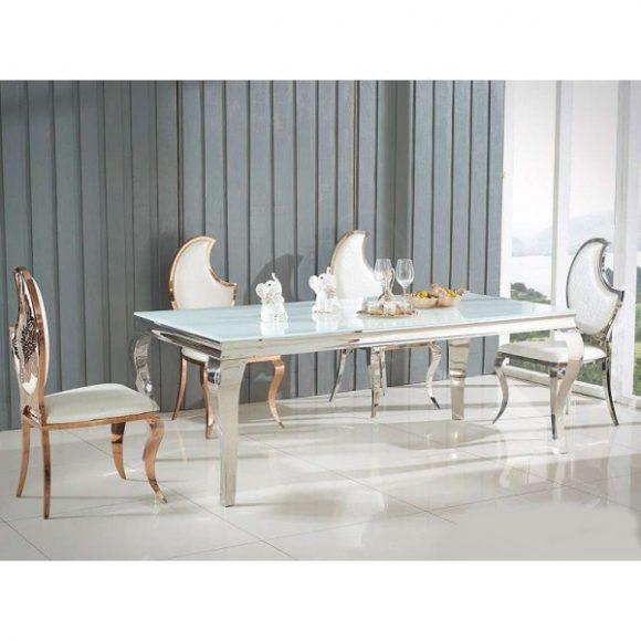 Lauren Étkezőasztal 200 cm Fehér