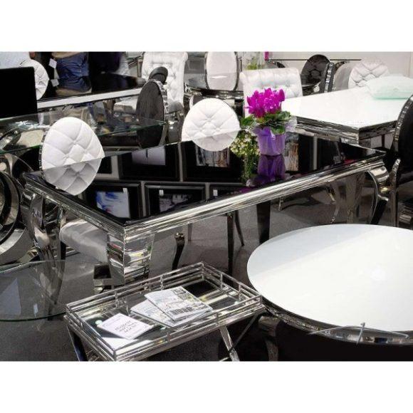 Lauren Étkezőasztal 150 cm Fekete