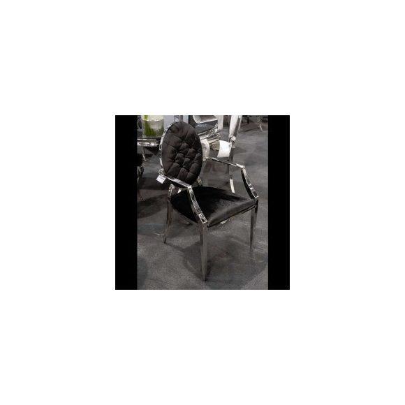 Lia Ezüst - Fekete Karosszék