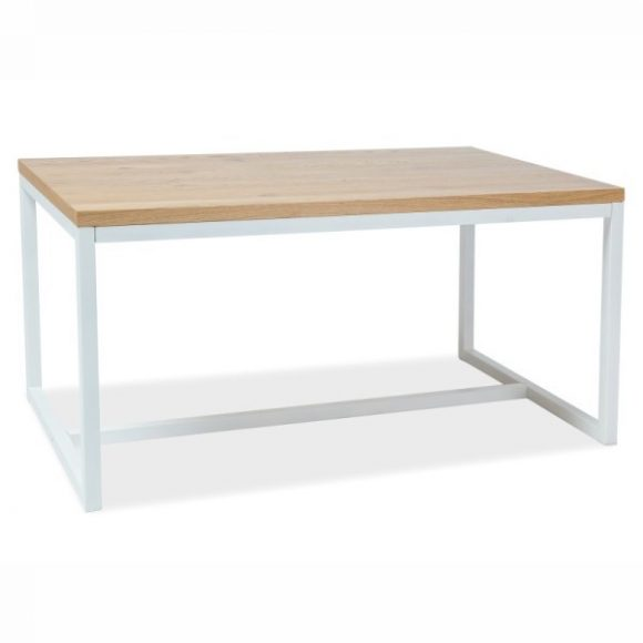 Larissa A Tölgyfa Asztal 150 cm / Fehér