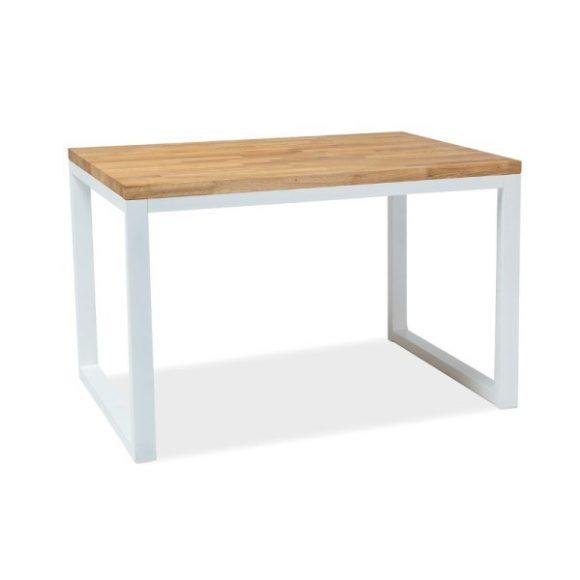 Larissa II Tölgyfa Asztal 120 cm / Fehér