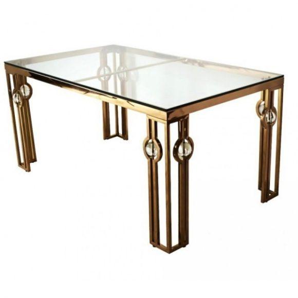 Lucky Étkezőasztal 150 cm Arany