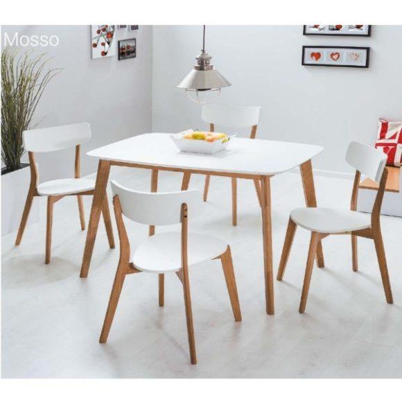 Max I Asztal 120 cm Tölgy / Fehér