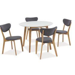 Max II Asztal 100 cm Tölgy / Fehér