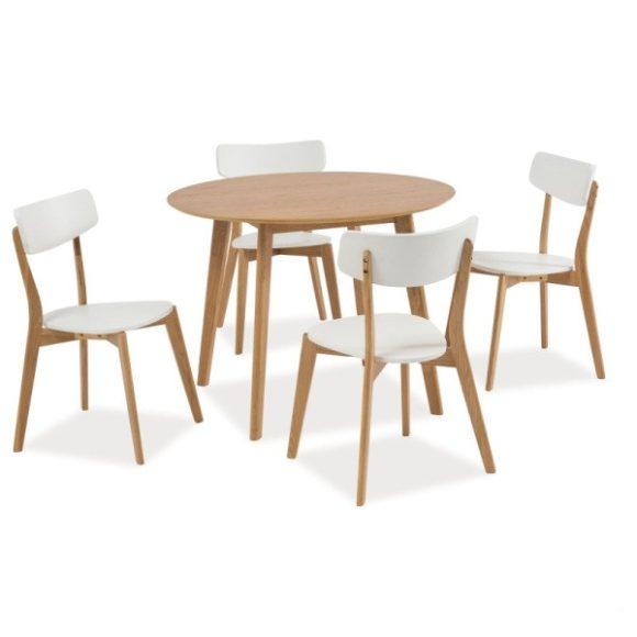 Max II Asztal 100 cm Tölgy