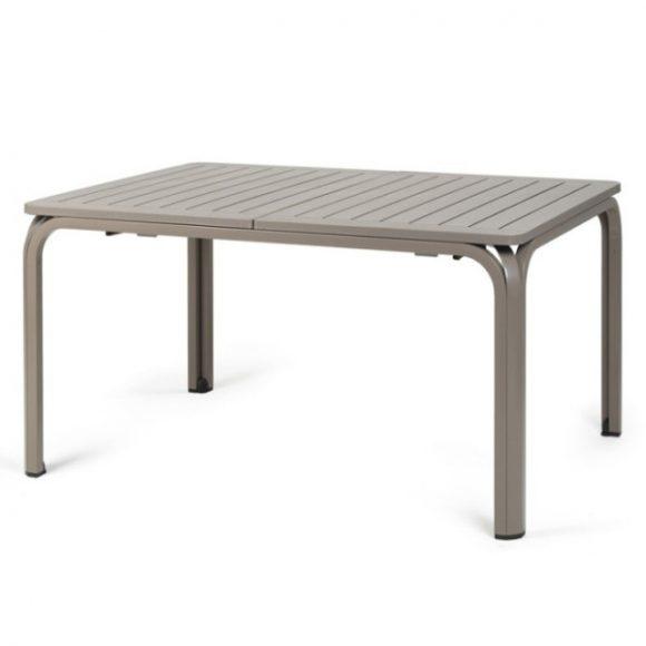 NARDI ALLORO Bővíthető Kerti Asztal 140-210 cm Galambszürke