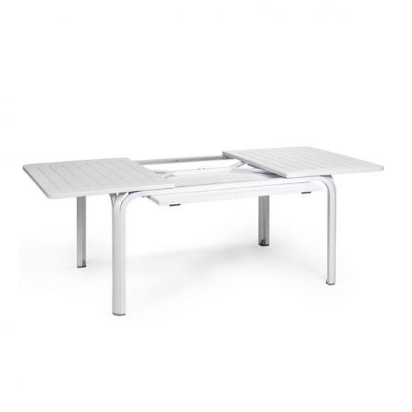 NARDI ALLORO Bővíthető Kerti Asztal 140-210 cm Fehér
