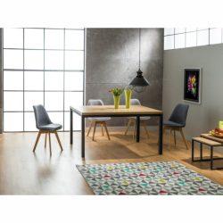 Nora Tölgyfa Étkezőasztal 150 cm