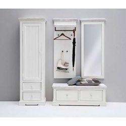 Odell Tükör 59 x 145 x 5 cm / Fenyőfa / Fehér