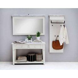 Odell Tükör 124 x 75 x 5 cm / Fenyőfa / Fehér