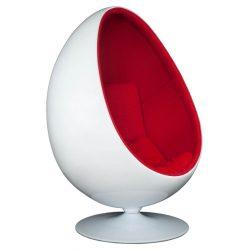 Olivia Fotel Fehér / Piros