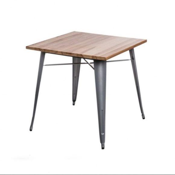 Parker Wood Asztal Ezüst - Kőris