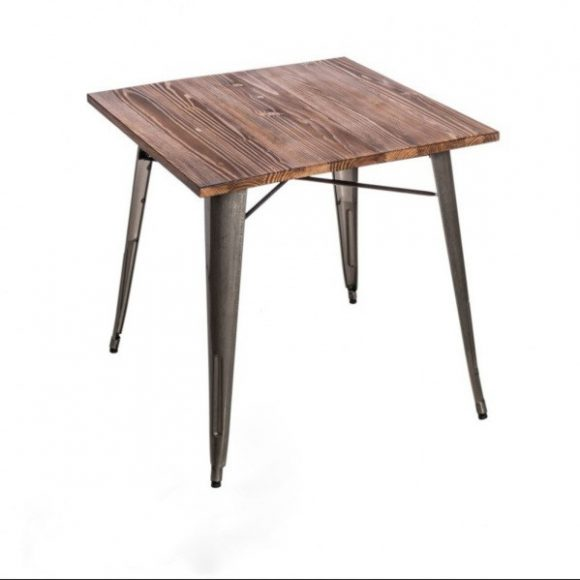 Parker Wood Asztal Fém - Fenyő