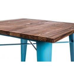 Parker Wood Asztal Kék - Fenyő
