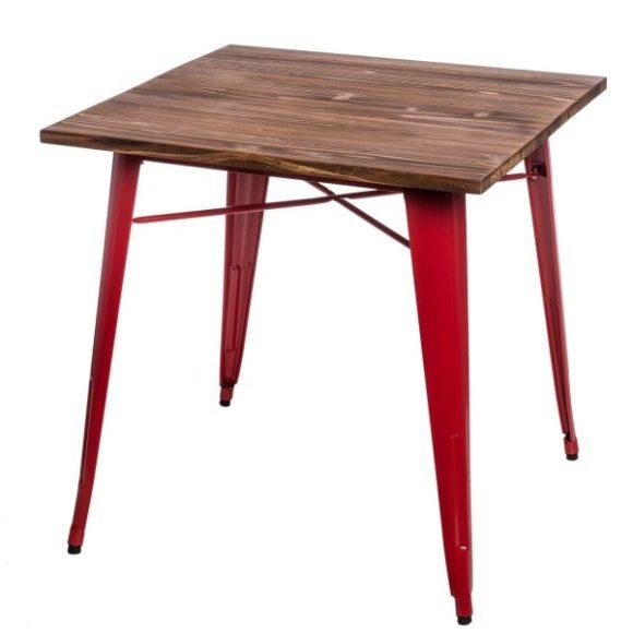 Parker Wood Asztal Piros - Fenyő