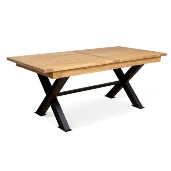 RAVON bővíthető étkezőasztal 200-280cm fekete - tölgy