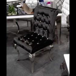 Rico szék Ezüst - Fekete