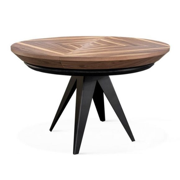 SANTINO bővíthető étkezőasztal 120-220cm Dió