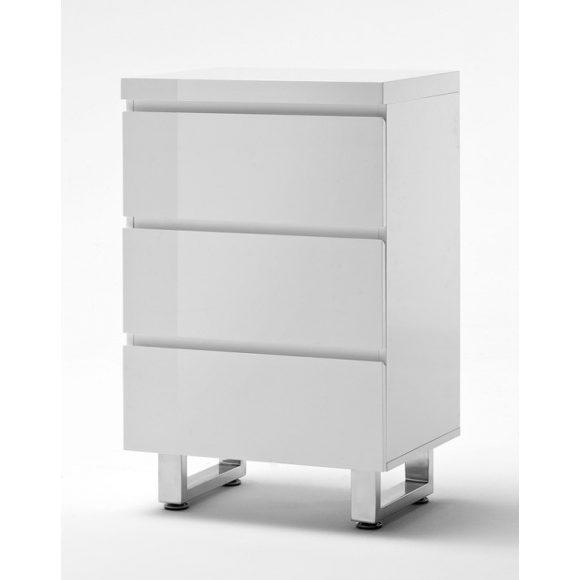 Sommer Komód 53 x 82 x 38 cm Magasfényű Fehér