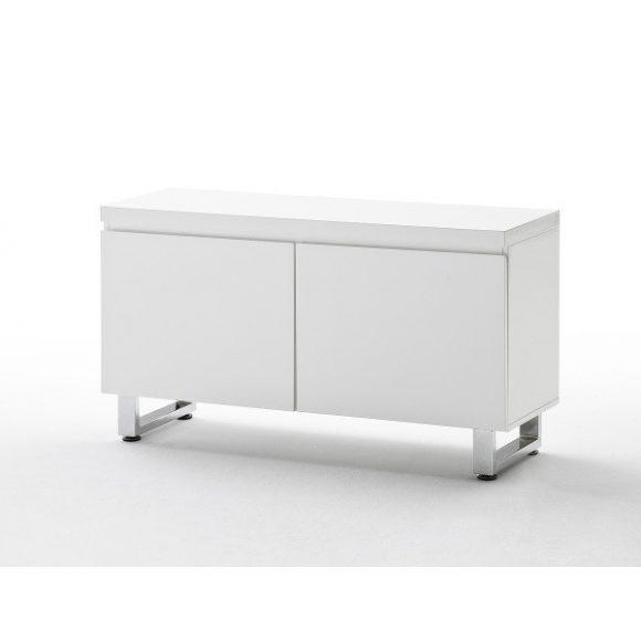 Sommer Komód 110 x 60 x 38 cm Magasfényű Fehér