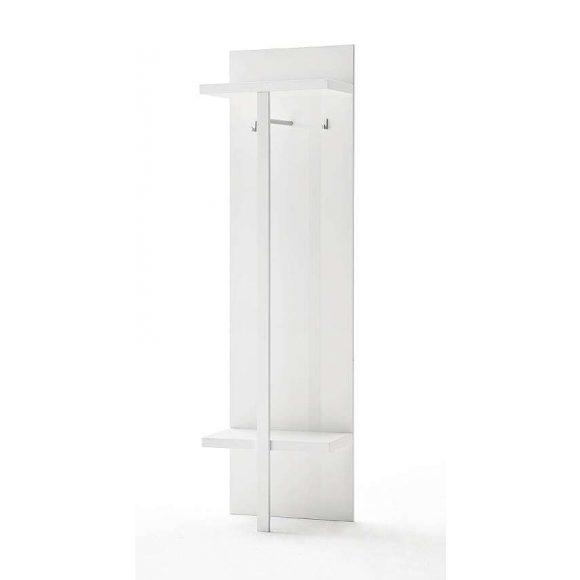 Sommer Kabátakasztó Panel 55 x 195 x 30 cm Magasfényű Fehér