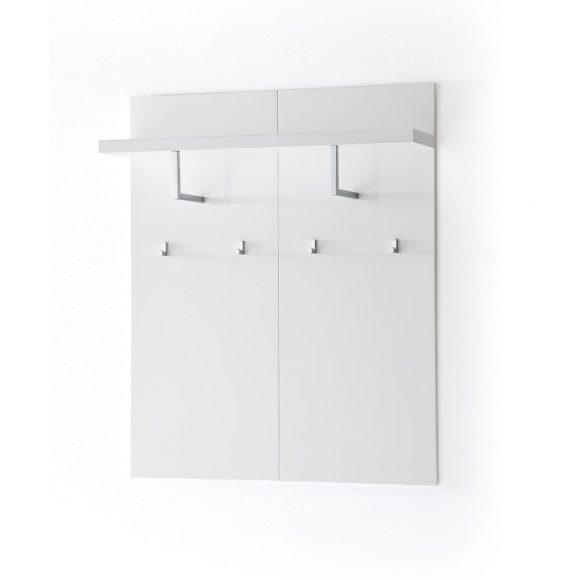 Sommer Kabátakasztó Panel 102 x 121 x 25 cm Magasfényű Fehér