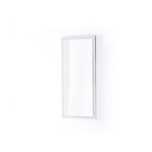 Sommer Tükör 51 x 106 cm Magasfényű Fehér Kerettel