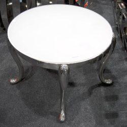Leonard Dohányzóasztal 60 cm / Fehér
