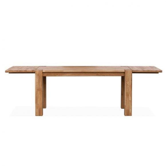 TIMBER tömör tölgyfa bővíthető étkezőasztal 140-240cm