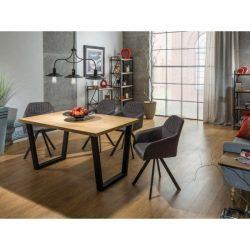 Valentine Tölgyfa Étkezőasztal 180 cm