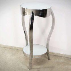 Flick Lerakóasztal - Virágtartó 40 x 92 cm / Ezüst