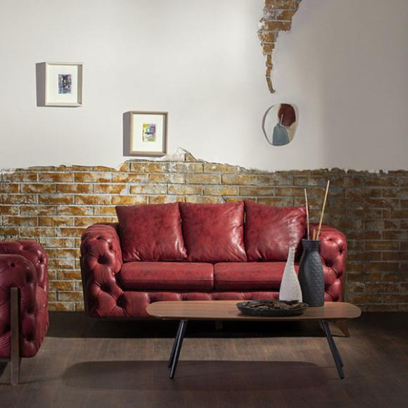 Euphoria két személyes kanapé többféle kárpittal