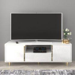 Caroline fehér modern Tv szekrény