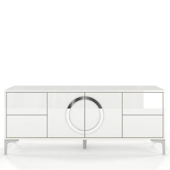 Eva fehér modern Tv szekrény