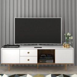 Harmoni fehér modern Tv szekrény