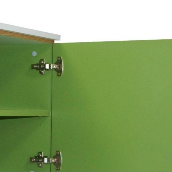 Jorgen zöld 2 fiókos 2 ajtós komód
