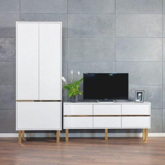 Magica fehér Tv szekrény