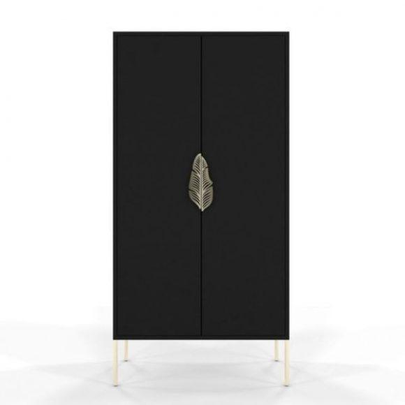 Merlin fekete szekrény