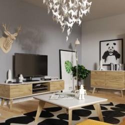 Skandica Jorgen arany tölgy Tv szekrény