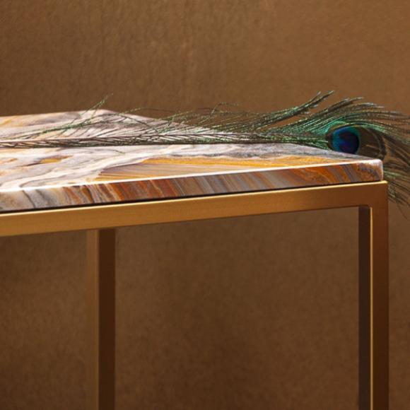 Prizma lerakóasztal 47cm